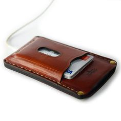 iPhone 5s & 5c leather case