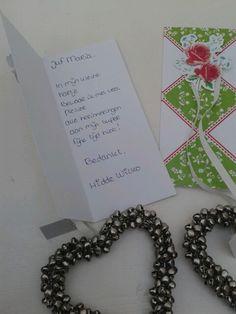 Afscheids traktatie / cadeautje juf peuterspeelzaal HW!