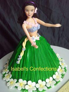 Hawaiian Doll Cake...