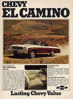 1974 Chevrolet El Camino.
