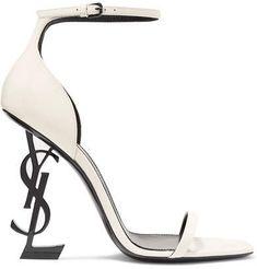 381964bfca47 Saint Laurent - Opyum patent-leather sandals