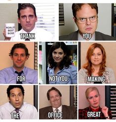 Here are the 23 Best Memes pics from Popular TV Show over the year Office Theme Song, Office Themes, Us Office, The Office Show, Dundee, Office Jokes, Worlds Best Boss, Office Pictures, Funny Posts