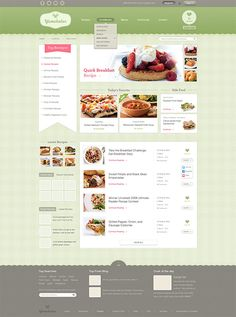 I like the layout of this design. It kind of resembles a restaurant menu. The colors are neutral and not distracting. The design looks clean and the site seems easy to navigate.