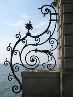 Cliff Walk, #Newport, RI....looks like the shape of something else that will be at the wedding!