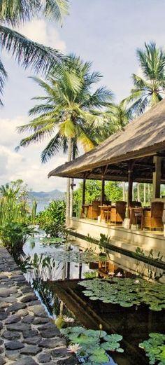 Alila Manggis Resort in Bali, Indonesia