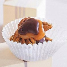 Chocolate covered turtles #marthastewart