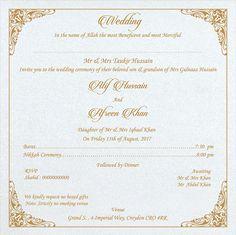 Appropriate muslim wedding invitation wordings are written perfectly wedding invitation wording for muslim wedding ceremony filmwisefo
