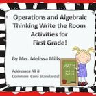 Wow! Who doesn't love making math exciting for their students?  This product includes 8 write the room activities that match the common core standa...