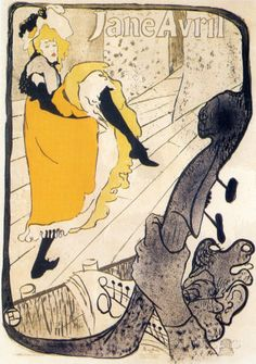 Jane Avril Kunstdruck von Henri de Toulouse-Lautrec - AllPosters.at