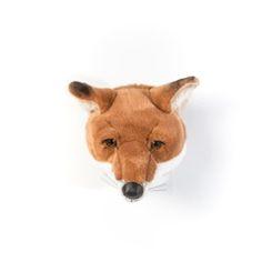 Dierenkop Vos - Louis- muurornament - Wild & Soft