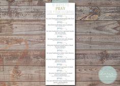 Pray for Your Husband PDF by designbylulustudio on Etsy