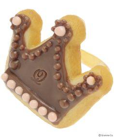 Crown Sugar Cookie Ring Brown