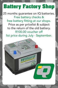 Get off – on Willard IQ battery Us Shop, Old Things