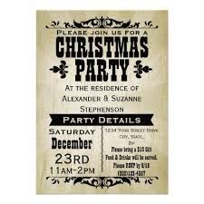 vintage christmas party invitations - Google Search