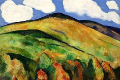 bofransson:  Marsden Hartley (1877 – 1943), Mountains No. 22