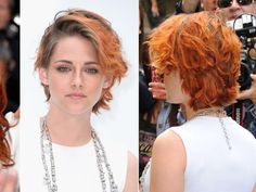 Kristen Stewart Gets Dramatic Short Hair Cut -- See Makeover   Maybe would look better without her stupid hair color, it's a consideration