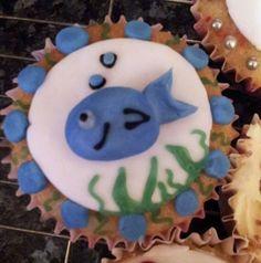 Whale cupcake!