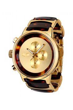 Vestal Metronome - Gold/Tortoise $320