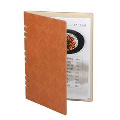 5psc/lot Retail Wholesale Restaurant Menu Covers Wine List Menu Holders PU Leather Coffee List Folders Display Restaurant Supply