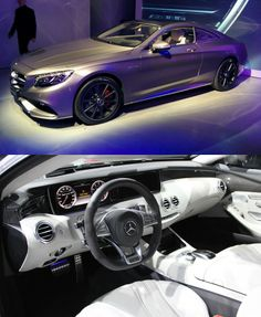 Mercedes-Benz S63 AMG Coupe at the New York auto show…