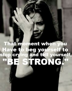 """Be Strong"""