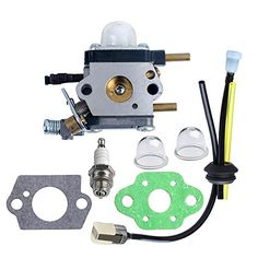 Power Tillers - HIPA C1UK54A Carburetor with Gasket Fuel Repower Kit Spark Plug for Echo Mantis Tiller 7222 7222E 7222M 7225 7230 7240 7920 7924 TC210 TC2100 Cultivator -- Details can be found by clicking on the image. (This is an Amazon affiliate link)