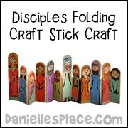 Bible Crafts for Sunday School - D - E