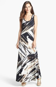Calvin Klein Bias Cut Maxi Dress available at #Nordstrom
