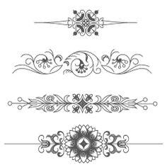 2650 Vintage Vectors Ornaments (& Frames & Illustrations), Retro Graphics - Free Downloads   Vectorian