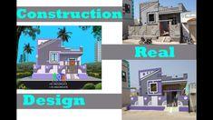 Village House Design, Village Houses, Modern Small House Design, Front Elevation Designs, Exterior Colors, Construction, Architecture, Building, Arquitetura