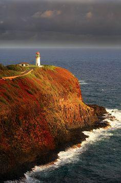kilauea lighthouse Kilauea lighthouse Photograph - Kilauea lighthouse Fine Art Print - Kenneth Sponsler