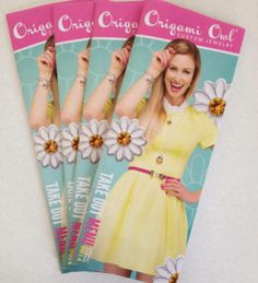 You have got to see the new Spring catalog! It's OWLmazing!! Inbox me your addy and I will mail you one! http://crayolaskies4a1000miles.origamiowl.com/