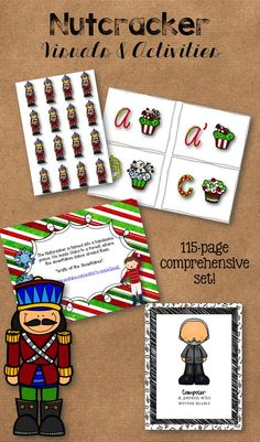 Visuals and Activities for the Nutcracker--comprehensive unit with lots of ideas for your Nutcracker unit!