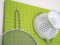 kitchen peg board