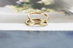 """Gli sbandati"" ring - vintage yellow gold #ring #yellow #gold #wabisabi #vintage #raw #maschiogioielli #milano #jewels #minimal #fashion"