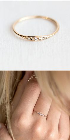 Nature Inspired Moissanite Engagement Ring Set White Gold Engagement Rings Branch and Wedding Moissanite Rings - Fine Jewelry Ideas - Cute Crystal Ring Estás en el lugar correcto para - Unique Diamond Engagement Rings, Engagement Ring Settings, Unique Rings, Beautiful Rings, Simple Gold Rings, Cute Rings, Small Rings, Beautiful Pictures, Cheap Rings