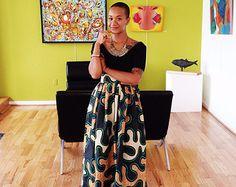 The African Print Skirt-  The Alex Skirt