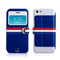 MOMAX French style Leather Protective Shell Case Cover shell for APPLE IPHONE5C