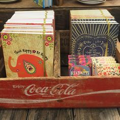 Fun notebooks and Candle Matches... some of our favorite stocking stuffer gifts!