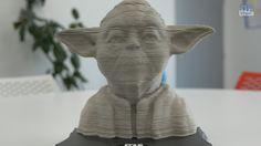 Puzzle #StarWars #Yoda sculpture 3D 160 pièces de @EducaBorras - Démo en français
