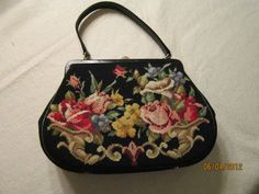 Vintage Walborg Petit Point handbag
