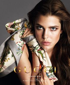 0711219493dc8 Charlotte Casiraghi Fronts Gucci s  Forever Now  Campaign . Catalog style  Inspirations at  MonicaHahnPhotography
