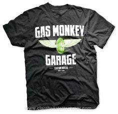 Wheel & Wings - Gas Monkey Garage T-Shirt  Wheel & Wings - Gas Monkey Garage     Fly like Aaron Kaufman and live the dream with this one of a kind Wheel & Wings T-shirt by Gas Monkey Garage.      Pre-shrunk 100% cotton (wil..  Price: €28.99  http://www.clarabellatattoowear.com/men/t-shirts/gas-monkey-garage/wheel-wings-gas-monkey-garage-t-shirt/   Don't you like rocking deals? Don't miss out! Grab YOUR sweet 15% discount code: http://eepurl.com/boSy7H