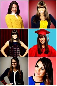 Evolution of the Rachel Berry...Personally I like the old Rachel much better, New Rachel has taken success to close to heart and is much to vain for her good