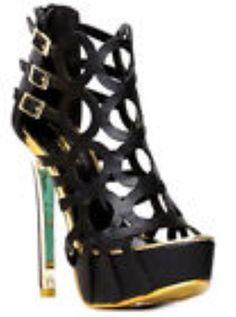 Alice Black Mint Pink White Open Toe Platform Pump Stiletto Heels solid high #Alba #OpenToe #Clubwear