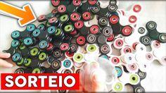 Sorteio de 100 fidget spinner RAROS A CADA 10 MINUTOS (Mundial)😱🤤 ENTRO ...