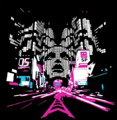 Electronica | techno graphics graphics and comments