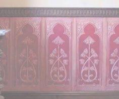 Lincrusta Dado Panel Wallpaper Gothic RD1967