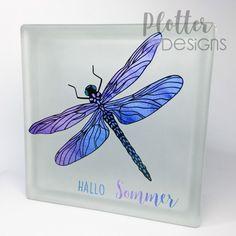 Plotterdatei Libelle von PlotterDesigns Brother Scan And Cut, Silhouette Cameo, Outline, Cricut, Maker, Design, Hello Summer, Advent Season, Binder
