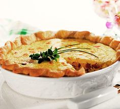 Leftover Turkey Recipe: Smoked Turkey Quiche